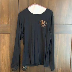 Burberry long sleeved t shirt